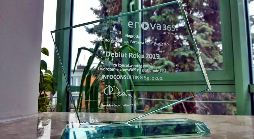 Nagroda soneta - InfoConsulting - enova365