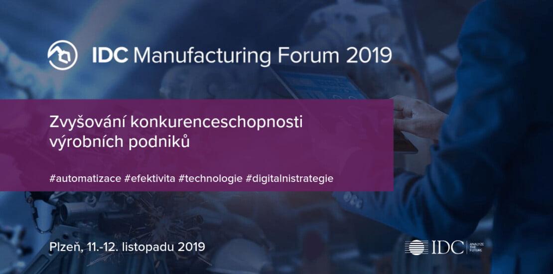 IDC Manufacturing Fora 2019