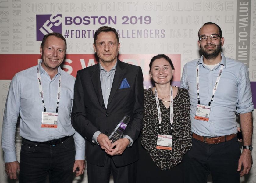 Nagroda dla InfoConsulting w kategorii IFS Services Partner of the Year 2019