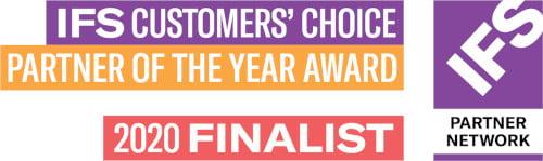 IFS Partner of the Year - customer choice - Finalist 2020